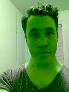 I'm-green-with-envy selfie