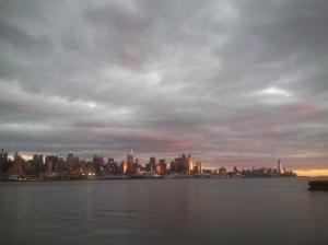 Manhattan Sunset Glow