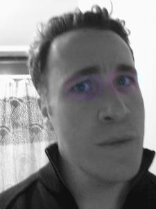 The Purple Bandit selfie