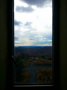 Window from tower
